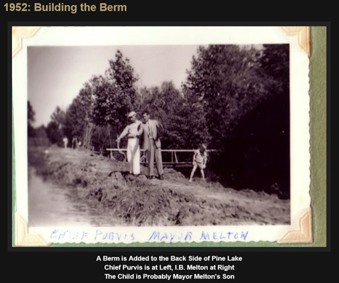 1952: Building the berm